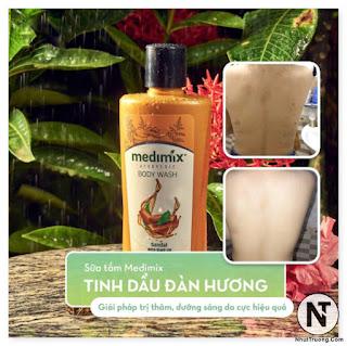 Sữa Tắm Medimix Đàn Hương & Dầu Eladi