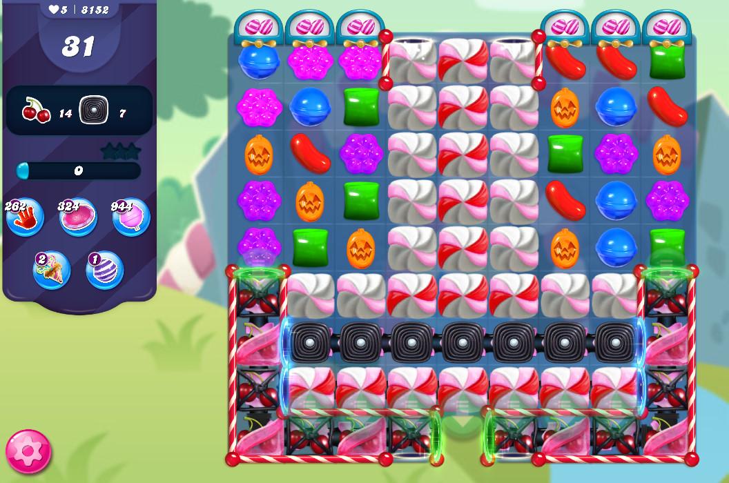 Candy Crush Saga level 8152