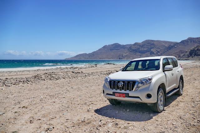 Oman, Roadtrip, Übersicht, Auto, 4x4, Strand, Berge, Toyota
