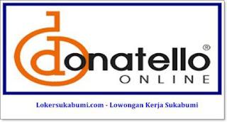 Lowongan Kerja House Of Donatello Sukabumi Terbaru 2021