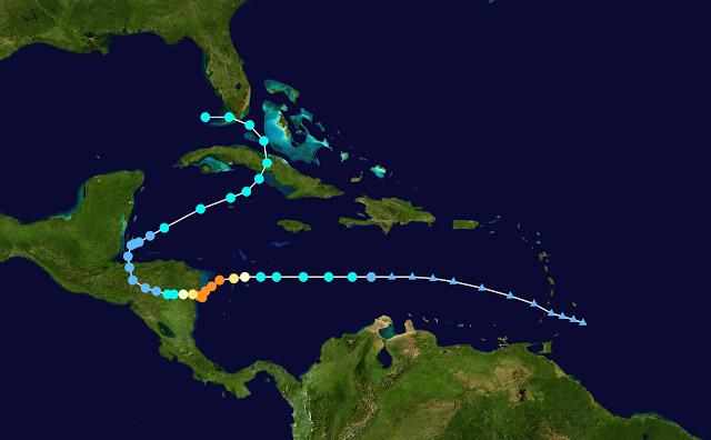 huracán Eta afecta a Guatemala