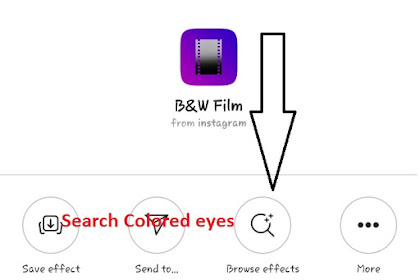 Colored Eyes Filter On Instagram   Steps to use Effect Colored Eyes On Intagram and TikTok