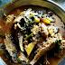 Odisha Non-Veg Food  : Chuna Macha Aaloo Poi Patra Besara