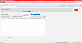 When window don't show any option in CSI SAP IPVS Screen