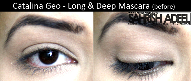 Catalina Geo Long & Deep Mascara - Review + Before & After