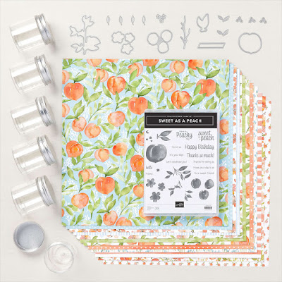 You're a Peach stamp set and dies and more