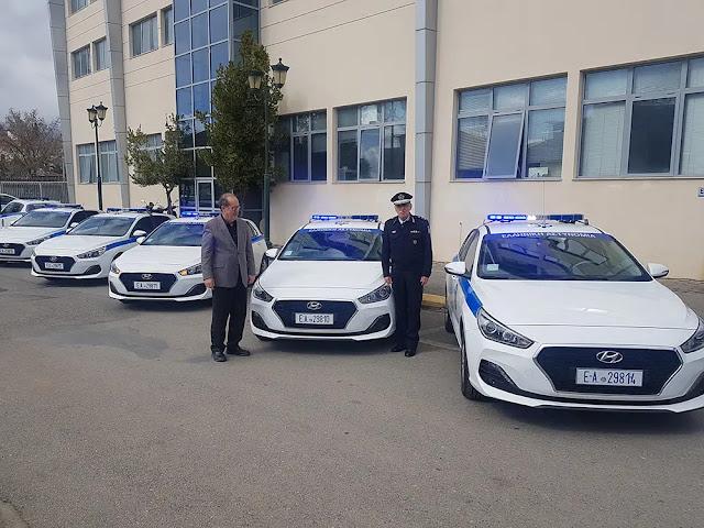 Περιπολικά, SUV, ραντάρ και ασύρματοι στην ΕΛΑΣ από την Περιφέρεια Πελοποννήσου