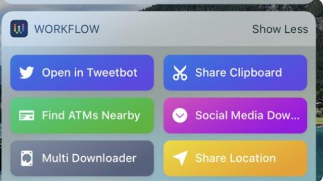 تطبيق Workflow سابقاً و Shortcuts حالياً