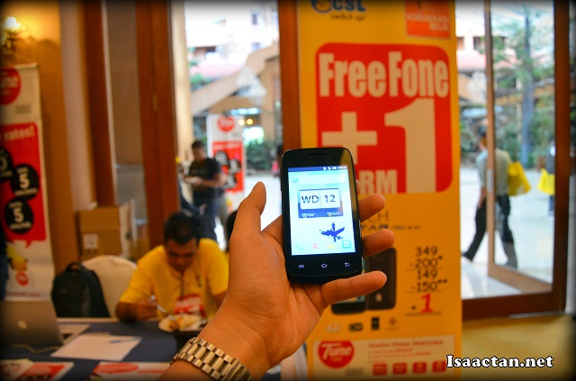 Spice CSL Malaysia Mi363 Freefone Product Launch