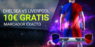 Luckia promo Chelsea vs Liverpool 20-9-2020