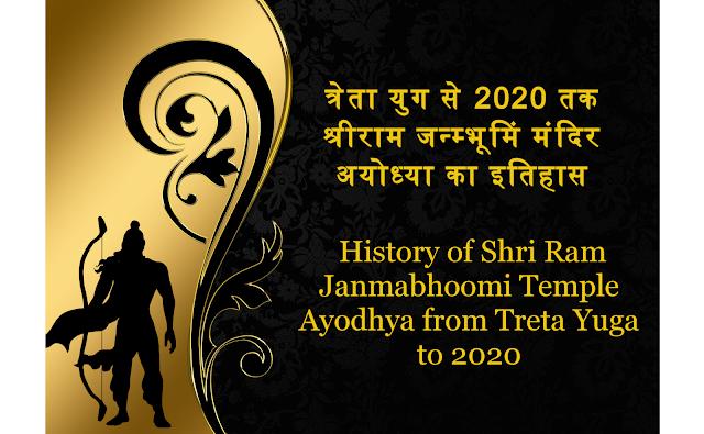 श्रीराम मंदिर अयोध्या का इतिहास