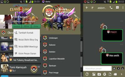 Download BBM Mod Clash of Clans v.2.9.0.51 APK Terbaru