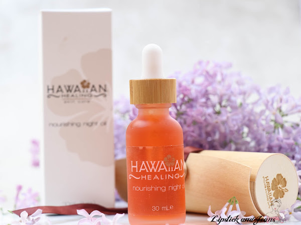 Hawaiian Nourishing Night Oil  for a Naturally Beautiful Skin