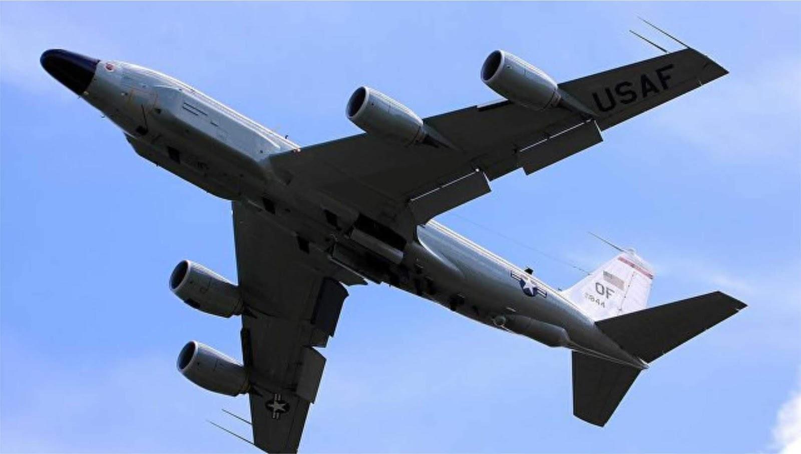 Pesawat pengintai Amerika mondar mandir di dekat perbatasan selatan Rusia