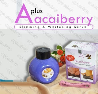 Acai Berry Slimming & Whitening Scrub