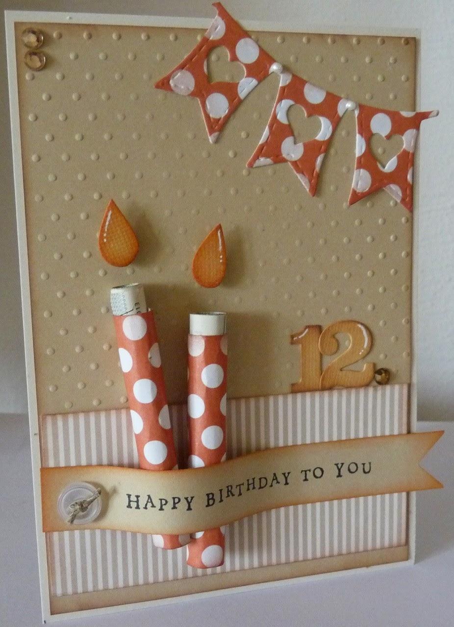 Stamping Funny Geldgeschenk Zum 12 Geburtstag