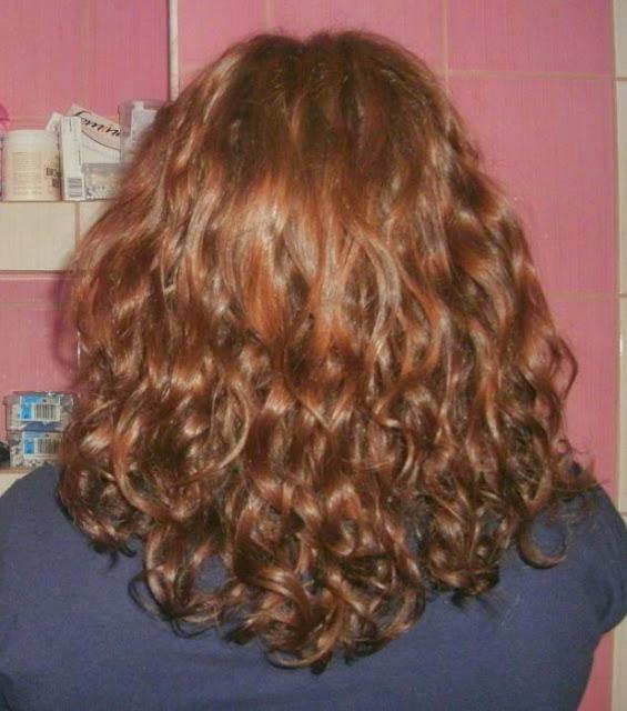 Włosy w marcu 2014r.