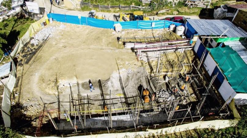 Realizan construcción de Institución Educativa Inicial N° 043 en Cachachi