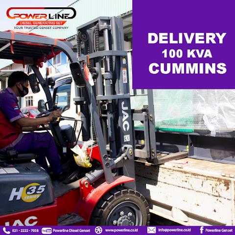 Delivery Genset 100 Kva Cummins