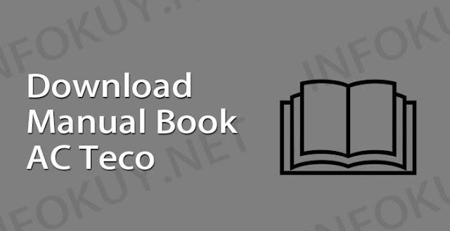 download manual book ac teco
