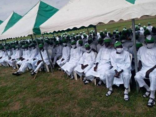 Photos From The Graduation Ceremony Of 601 Repentant Boko Haram Terrorists In Gombe #Arewapublisize