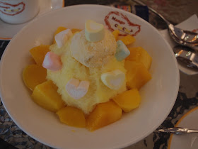 芒果恰恰雪花冰