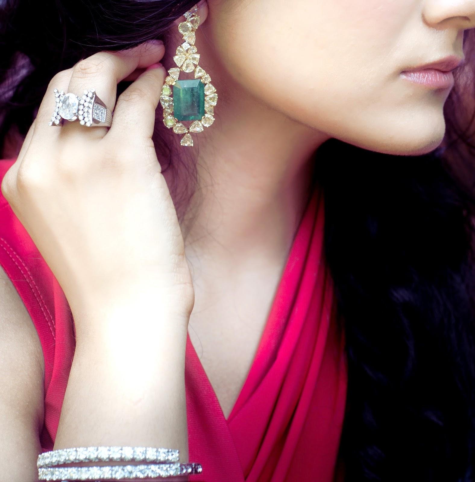 Diamond jewelry from Minawala jewelers Mumbai