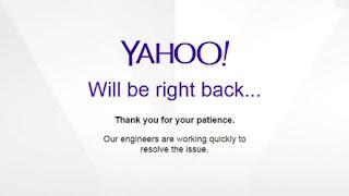 Yahoo  Mail Down : Apakah Penyebabnya