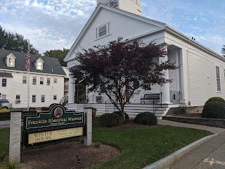 Franklin Historical Museum: Graveyard Tour - Oct 31; winter hours start his week