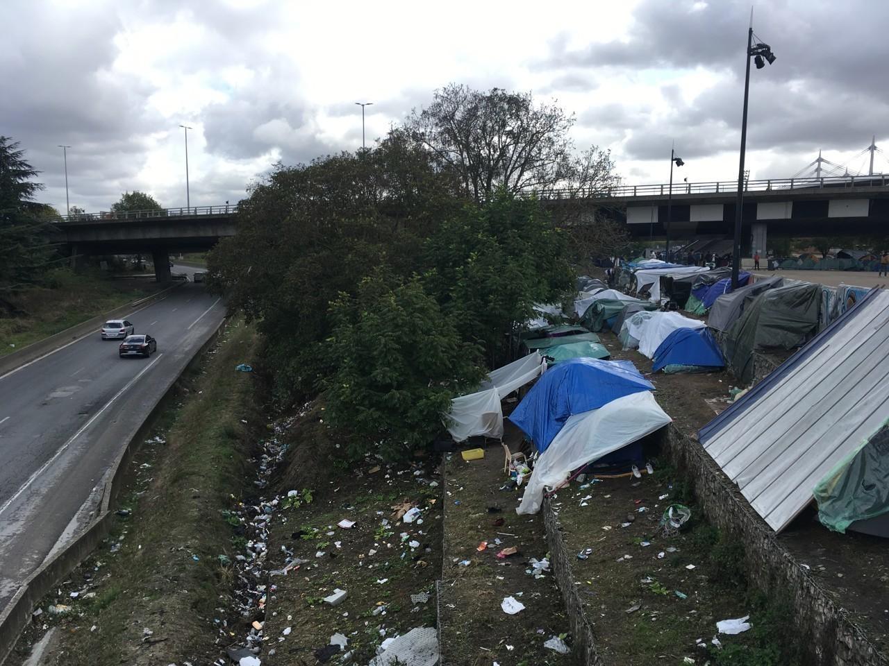 Camp de migrants en Seine-Saint-Denis (93) : il est urgent que ce campement soit évacué