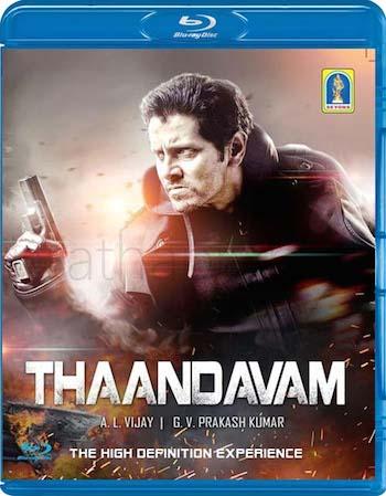 Thaandavam 2012 Dual Audio Hindi 480p BRRip 400mb