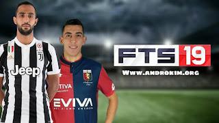 تحميل لعبة FTS 19 مهكرة للاندرويد بآخر الانتقالات رونالدو في جوفنتوس و محرز في السيتي