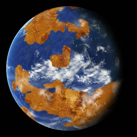 Venus may have had shallow oceans