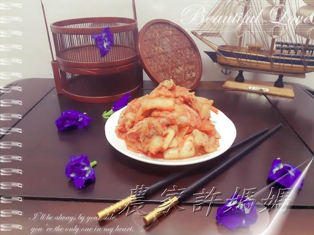 農家許媽媽-好吃到飛上天韓國泡菜製法