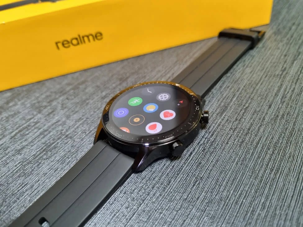 realme Watch S Pro Interface
