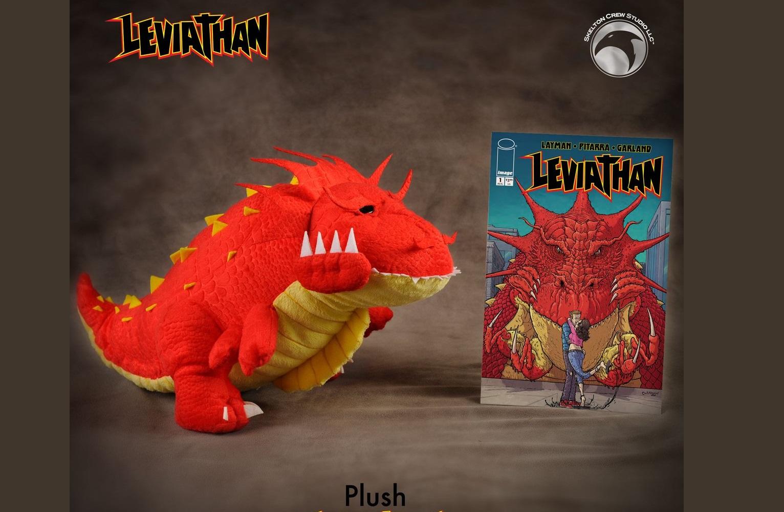 The Blot Says   : Leviathan Plush by Skelton Crew Studio x