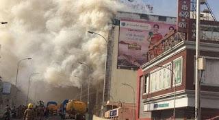 chennai silks fire accident