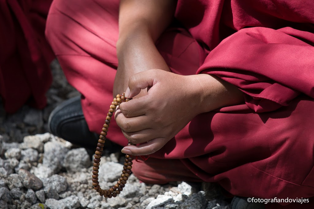 Yapa mala o rosario budista