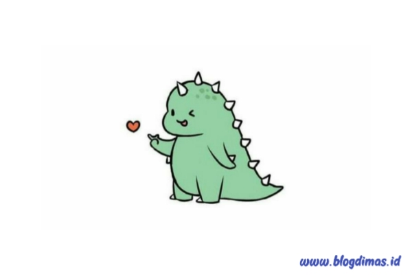Foto Dino Tiktok Merah Biru Hitam Ungu BTS Yang Lagi Viral