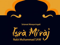 Ucapan Isra Mi'raj Nabi Muhammad SAW 2019/2020