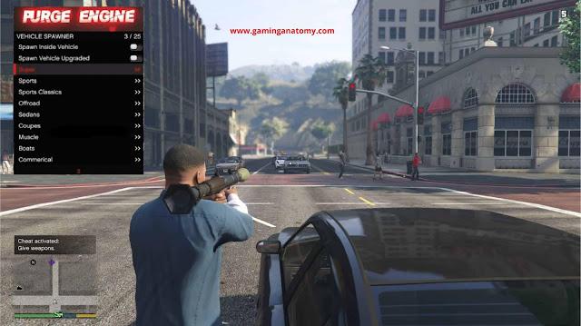 GTA V latest hack