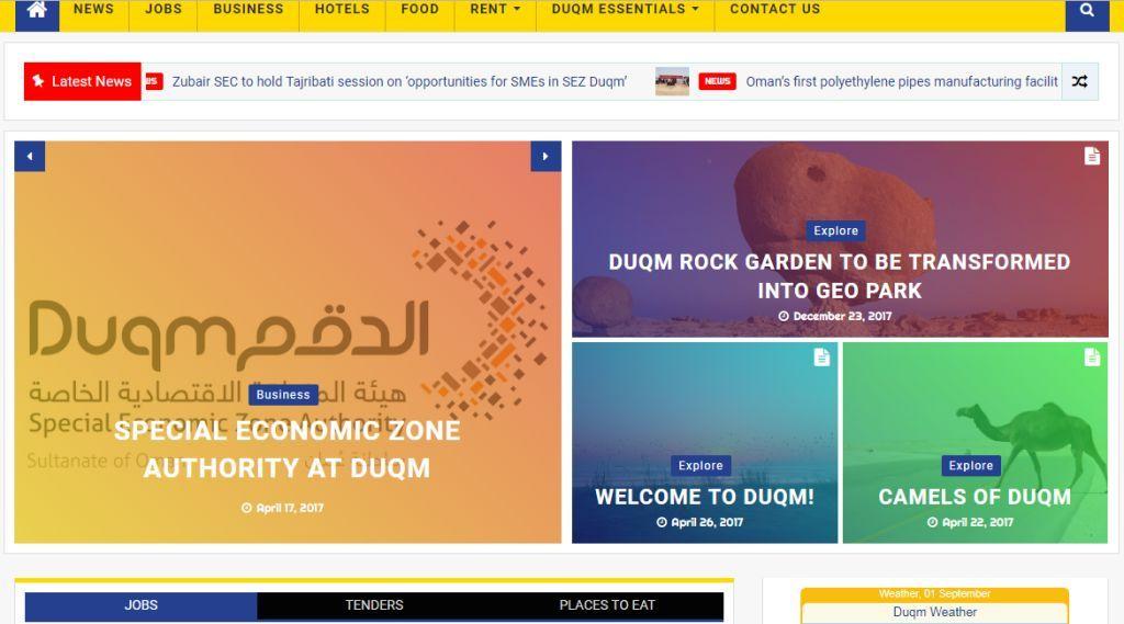 Content creators in Muscat for websites