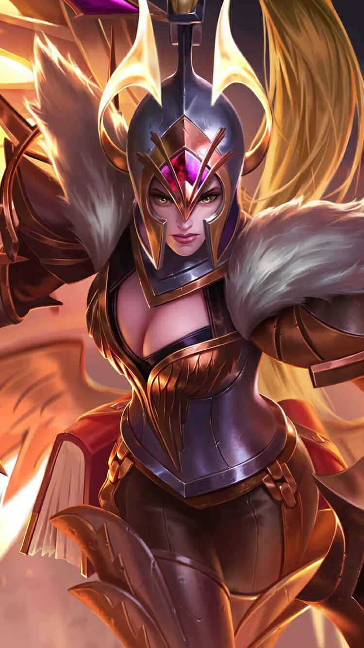 Wallpaper Freya War Angel Full HD for Android and iOS
