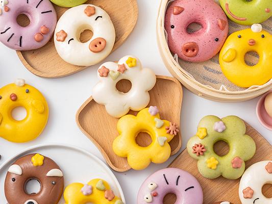 Cute Fruit, Vegetable Steam Dough, Buns(Baozi) Recipes For Kids