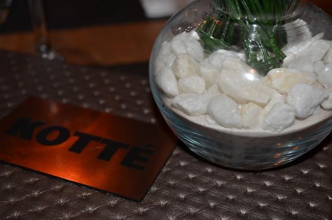 Kotté: Una cocina llena de tentaciones...