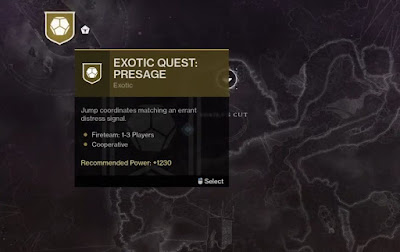 How to Get Started, Exotic Quest Presage, Voice On the Other Side Quest, Destiny 2,