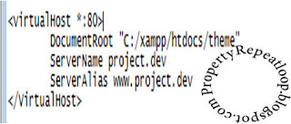 baiklah kali ini aku akan membawakan tema  Membuat Virtual Host di XAMPP