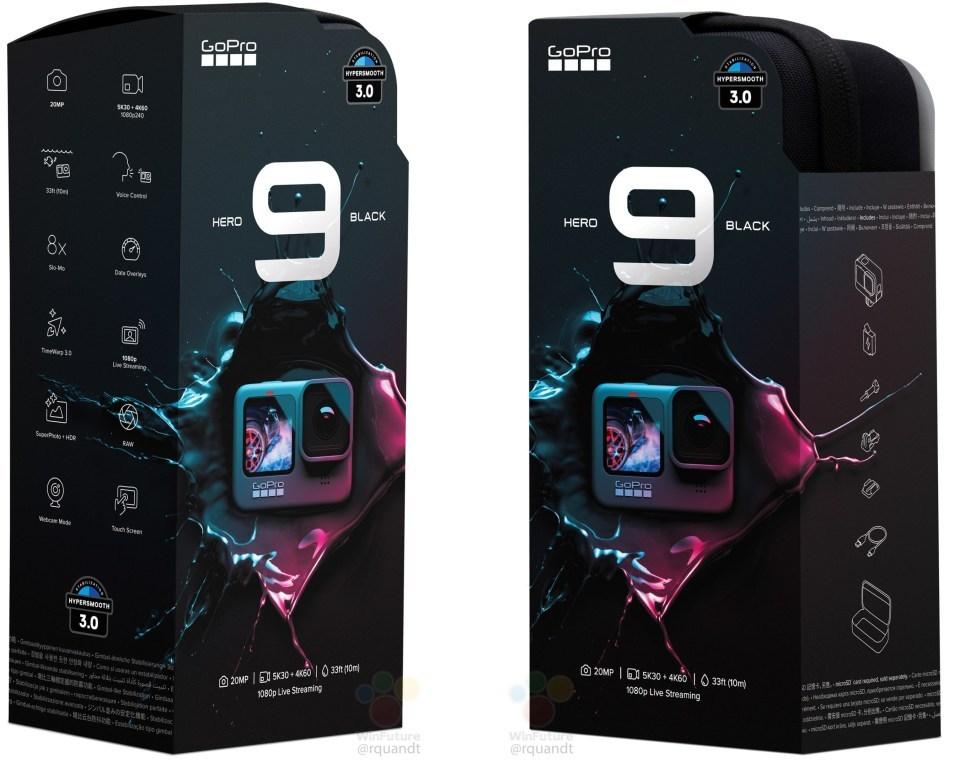 Упаковка GoPro Hero 9 Black