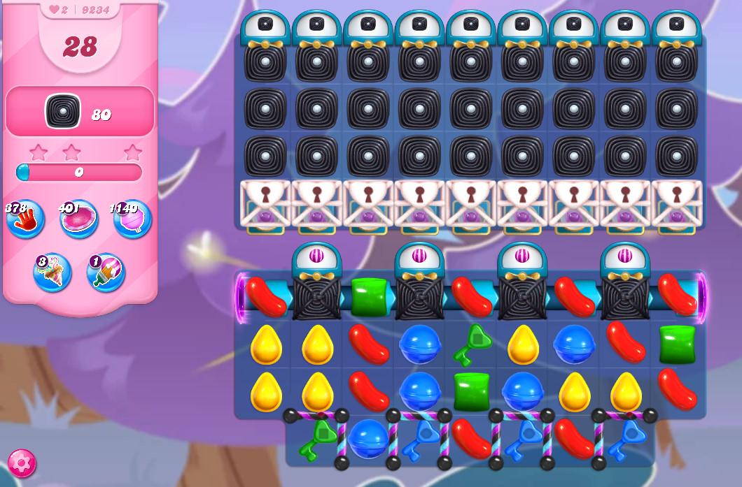 Candy Crush Saga level 9234