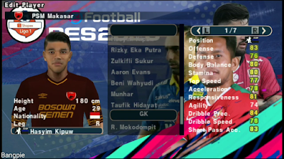 PES 2020 PPSPP SLI Patch Liga 1 Shopee Indonesia Season 2019/2020